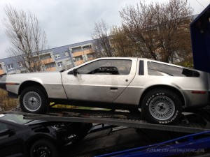 DeLorean DMC-12 autofanspot.pl foto bok