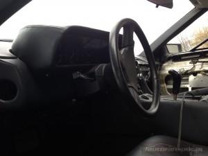 DeLorean DMC-12 autofanspot.pl foto kierownica