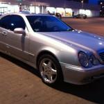 Mercedes Benz clk 320 w208 autofanspot.pl