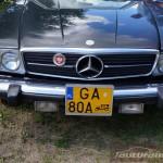 IV Zlot weteranów szos Starogard Gdański 2013 Mercedes Benz SL R107