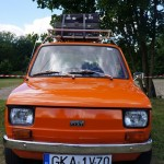 IV Zlot weteranów szos Starogard Gdański 2013 Mały Fiat 126p