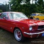 IV Zlot weteranów szos Starogard Gdański 2013 Ford Mustang 1964r.