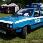 IV Zlot weteranów szos Starogard Gdański 2013 Polonez Milicja