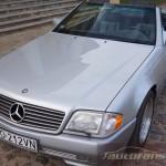 Mercedes Benz R129 SL foto autofanspot.pl  autofanforum.pl