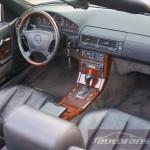 Mercedes Benz R129 SL foto autofanspot.pl  drewno