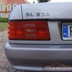 Mercedes Benz R129 SL foto autofanspot.pl  emblemat