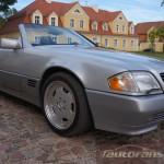 Mercedes Benz R129 SL foto autofanspot.pl  felgi amg