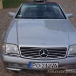 Mercedes Benz R129 SL foto autofanspot.pl  grill