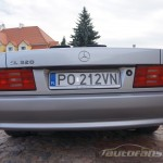 Mercedes Benz R129 SL foto autofanspot.pl  zderzak tył