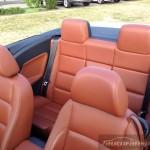 autofanspot.pl Volkswagen EOS 2.0TSI 200KM DSG wnętrze ruda skóra