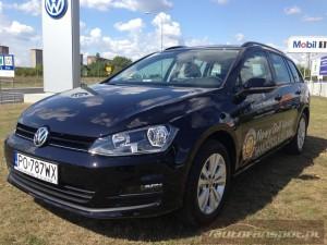 Volkswagen Nowy Golf Variant autofanspot.pl  2013