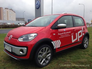 Nowy VW Up! CROSS foto autofanspot.pl