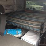 Caddy Maxi Tramper autofanspot.pl łóżko złożone foto