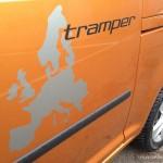 Caddy Maxi Tramper autofanspot.pl napis foto