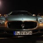 Maserati Quattroporte V 4.2 V8 Pinifarina GT sport autofanspot.pl front foto