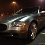 Maserati Quattroporte V 4.2 V8 Pinifarina GT sport autofanspot.pl linia foto