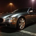 Maserati Quattroporte V 4.2 V8 Pinifarina GT sport autofanspot.pl maska foto
