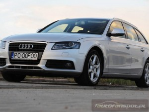 Test Audi A4 Avant 2.0TDI Multitronic autofanspot.pl LED
