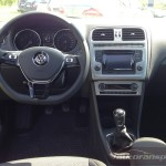 Nowe Polo 2014 autofanspot.pl  foto radio Composition Touch VW