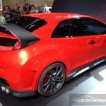 Honda Civic Type R Concept Międzynarodowe Targi Motoryzacyjne AMI Lipsk 2014 autofanspot.pl  foto