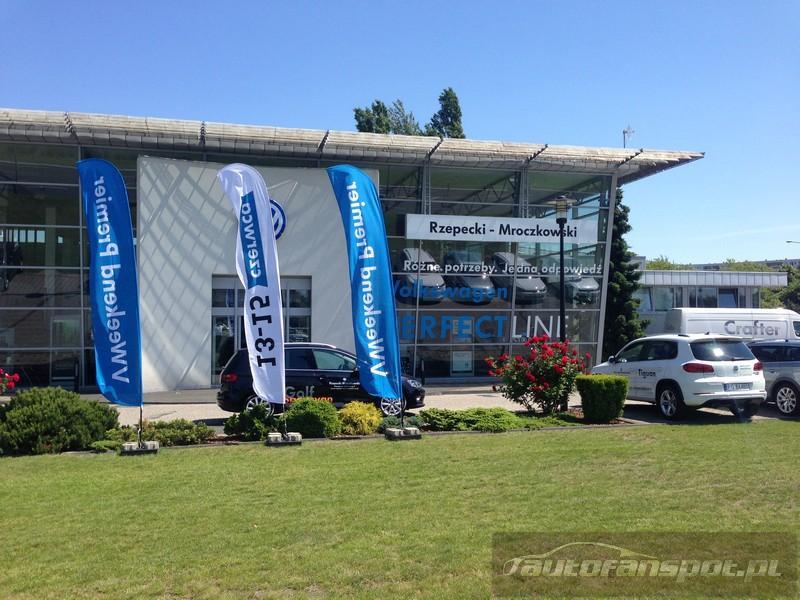 VWeekend VW Golf Sportsvan autofanspot.pl Rzepecki Mroczkowski foto