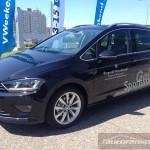 VWeekend VW Golf Sportsvan autofanspot.pl premiera foto